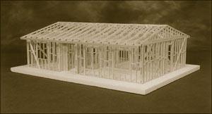 Model home framing kit